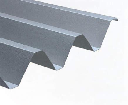 耐荷重性能を重視した「スチール折板」