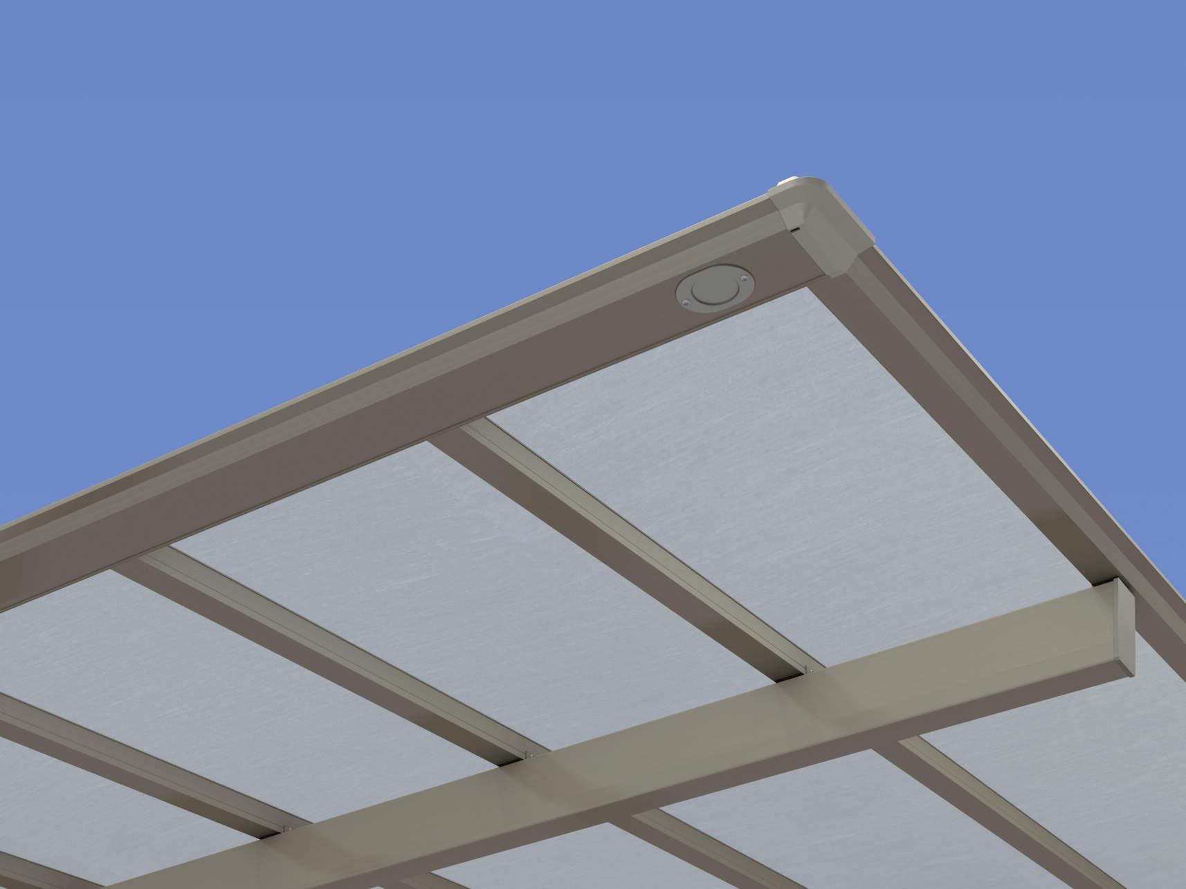 熱線遮断FRP板(防火認定屋根材)